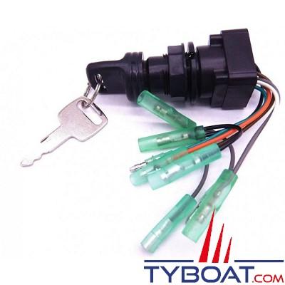 Contacteur à clé pour moteur 2T & 4T - SUZUKI - 37110-99E00