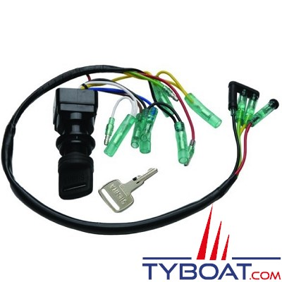 Contacteur à clé pour moteur 2T & 4T - YAMAHA - 703-82510-12