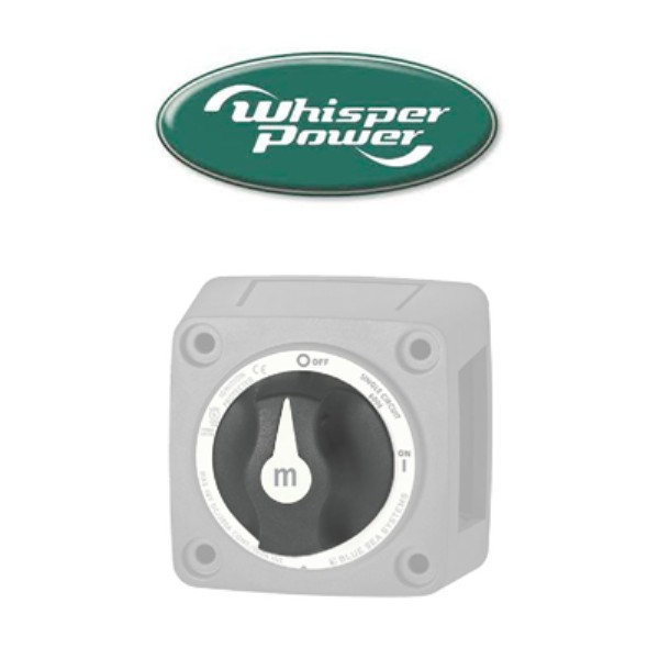 Coupe-batteries WhisperPower
