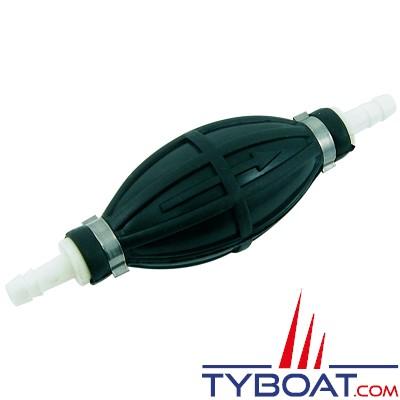 Euromarine - Poire d'amorçage carburant - petit modèle - Tuyau Ø8