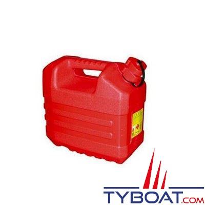Jerrican carburant plastique avec bec verseur 20L