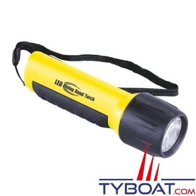 Lampe torche étanche jusqu'à 30 m - 4 LED