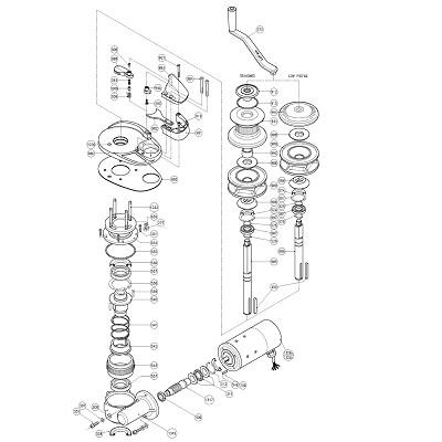 LOFRANS Project 1500 - Pièces détachées
