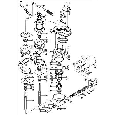 LOFRANS Project 2000 - Pièces détachées