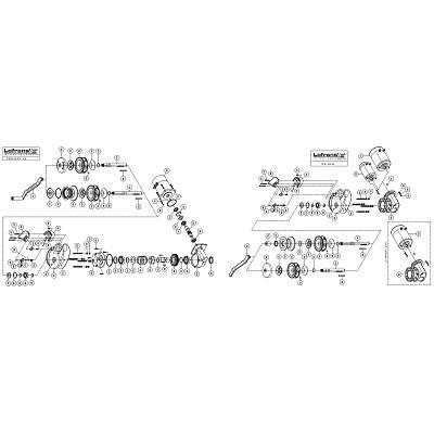 LOFRANS X2 Alu/Project - Pièces détachées