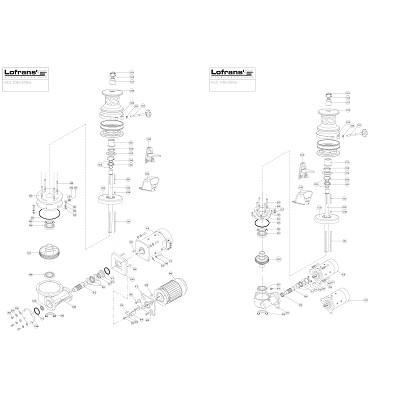LOFRANS X3.5 - Pièces détachées