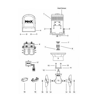 MAX POWER - Pièces détachées propulseurs électriqu