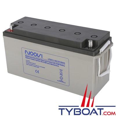 Noovi - Batterie Hybrid Gel/AGM - 12 volts 140 Ampères