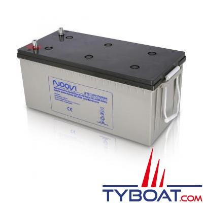 Noovi - Batterie Hybrid Gel/AGM - 12 volts 200 Ampères