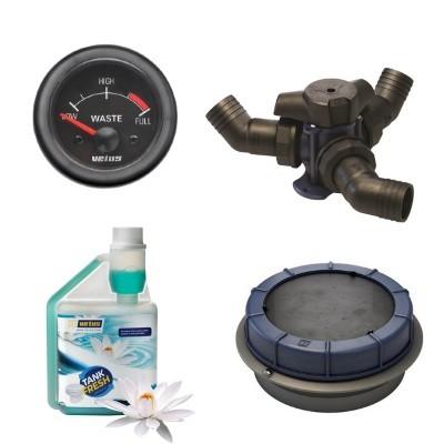 Accessoires réservoirs eaux usées Johnson Pump