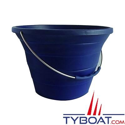 Seau 100% silicone pliable  - 7 litres - Ø 28.5 cm x H 20 cm