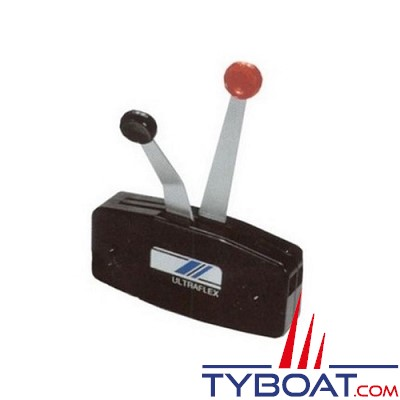 Ultraflex - B49 - Boitier économique hors-bord pour montage en saillie - Bi-levier