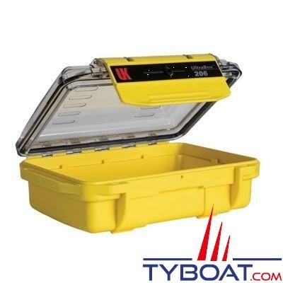Boîte étanche UK Ultra Box 206 Jaune 17 X 11,9 X 5,8 CM