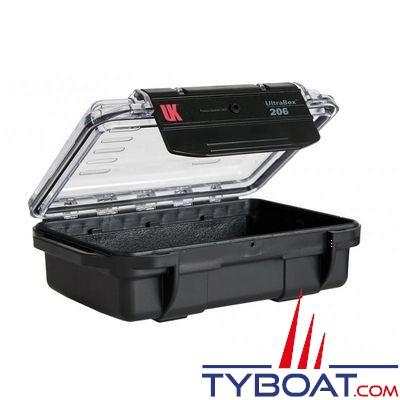 Boîte étanche UK Ultra Box 206 Noir 17 X 11,9 X 5,8 CM