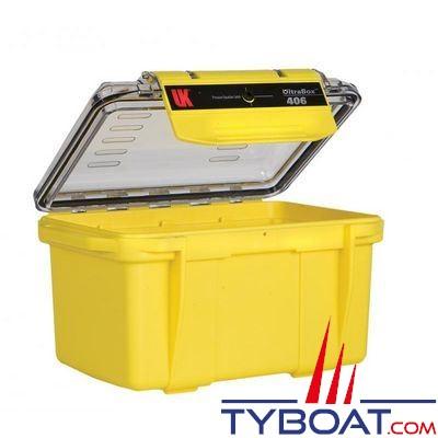 Boîte étanche UK Ultra Box 406 Jaune 17x11,9x9,8cm