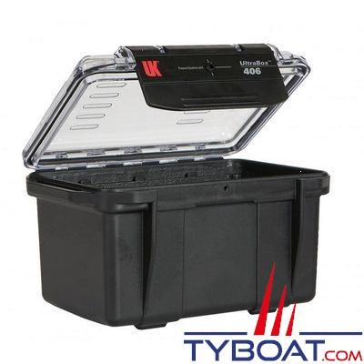 Boîte étanche UK Ultra Box 406 Noir 17 X 11,9 X 9,8 CM
