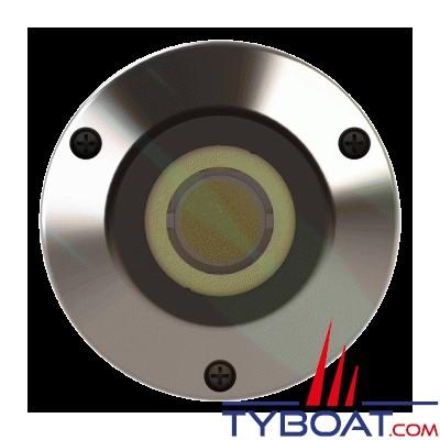 Underwater Lights - UW055 - Projecteur LED en bronze nickelé - Marlin 75 - éclairage blanc
