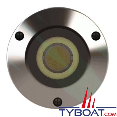 Underwater Lights - Projecteur LED en bronze nickelé - Marlin 75 - éclairage blanc - lot de 2
