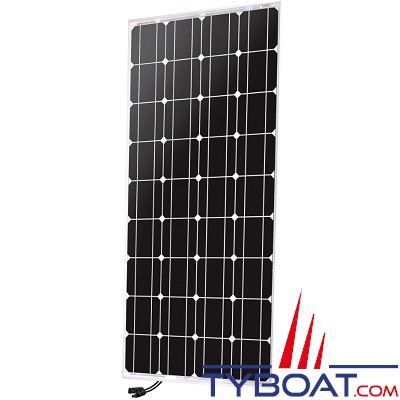 Uniteck - Panneau solaire Unisun 100.12 M - monocristallin rigide - 12 Volts - 100 Watts - 1200 × 550 × 35 millimètres