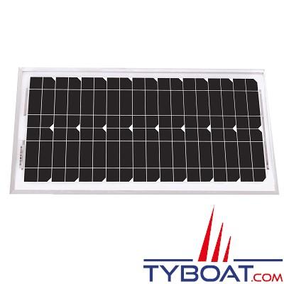 Uniteck - Panneau solaire Unisun 20.12 M - monocristallin rigide - 12 Volts - 20 Watts - 510 x 310 x 35 millimètres