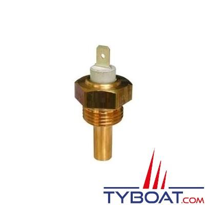 VDO 323 801 005 001D - Capteur de température - non isolé - 120°C - Filetage 1/8 x 27NPTF