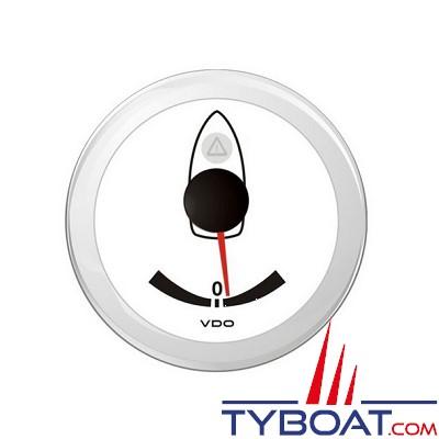 VDO - Angle de barre - ViewLine - Blanc - Ø52 millimètres