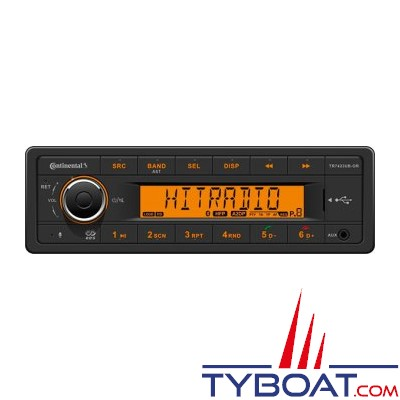 Vdo - AR037 - Autoradio Tuner USB AUX Bluetooth 24 Volts -  4X15Watts