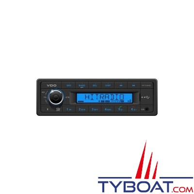 Vdo - AR042 - Autoradio Tuner USB AUX Bluetooth 12Volts 4X25Watts