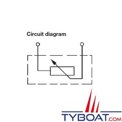 VDO - Capteur de pression - 0-5 Bar - M10X100