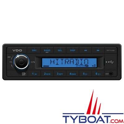 Vdo - CD716UB–BU - Autoradio Tuner USB AUX Bluetooth CD - 12 Volts - 4X25W