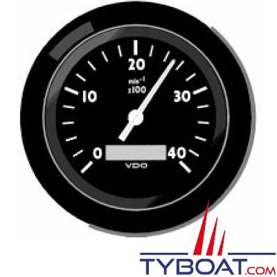 VDO - Horamètre et compte tours 3000Trs - 7/8-18NS2A - Isolée