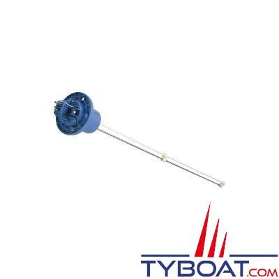 VDO - Jauge capacitive sécable «eau douce» tête étanche 12/24V 4-20mA 80/600mm