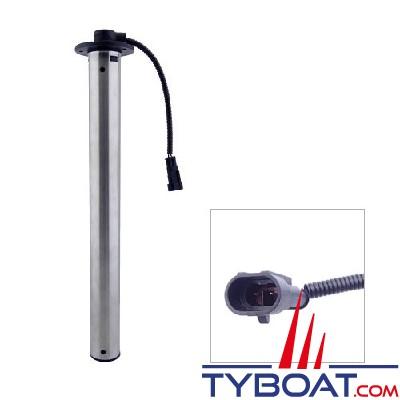 VDO - Jauge tubulaire carburant - Longueur 230 mm  - Ø 54mm - 90/4 Ohms - Isolée - A2C1750130001