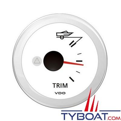 VDO- Trim indicateur 90° - ViewLine - Blanc - Ø52 millimètres