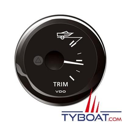 VDO - Trim indicateur 90° - ViewLine - noir - Ø52 millimètres