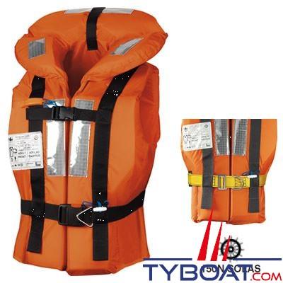 Gilet de sauvetage Veleria San Giorgio Posseidon + 43Kg 150N Solas avec harnais