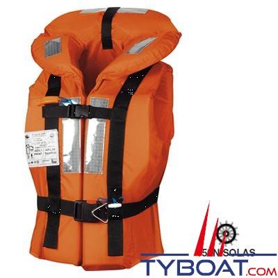 Gilet de sauvetage Veleria San Giorgio Posseidon + 43Kg 150N Solas sans harnais