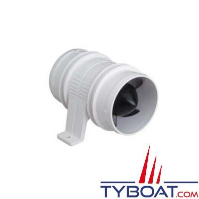 Ventilateur en ligne Attwood Turbo 3000 12 volts 4 m3 / minutes Ø 75 mm