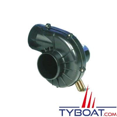 Jabsco - 35770-0092 - Ventilateur  montage sur étrier 12V 11A - 7,1m3/min usage permanent