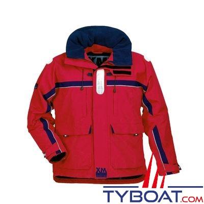 Veste de quart XM Yachting Offshore Taille M rouge