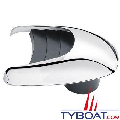 Vetus - Aérateur à coquille TYPHOON inox 316 manchon intégré Ø 100 mm
