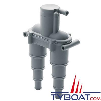 Vetus - AIRVENTV - Coude anti-siphon avec clapet pour tuyaux Ø 13, 19, 25, 32 mm.
