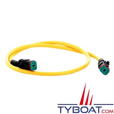 Vetus - Câble de connexion CAN pour propulseurs BOW PRO, Rimdrive et rétactables halogene free - longueur 1 mètre