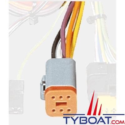 Vetus - Câble intermédiaire A STM6942 pour tableau de bord 4 mètres