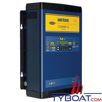 VETUS - Chargeur de batterie Combi- 120 A/Onduleur 1500 Watt connexion solaire 12 Volts