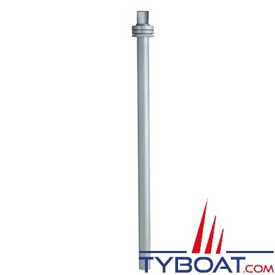 VETUS - Conduite d'extraction L=780 mm avec raccord Ø 38 mm droit