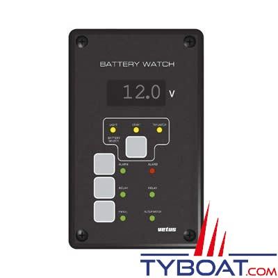vetus contr leur de batterie bw3 12 volts avec tableau. Black Bedroom Furniture Sets. Home Design Ideas