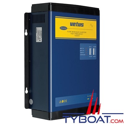 VETUS - Convertisseur de tension type IV 1500w 12 Volts 230v 50Hz