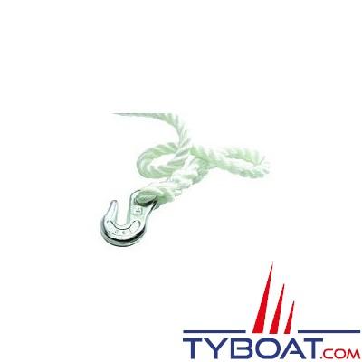 Maxwell - Crochet bloqueur - pour chaîne de 6 mm