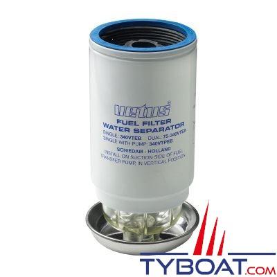 VETUS - Élément filtrant CE/ABYC 30 microns débit 380 L/H  Rouge